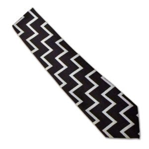 Fleet Air Arm zigzag tie