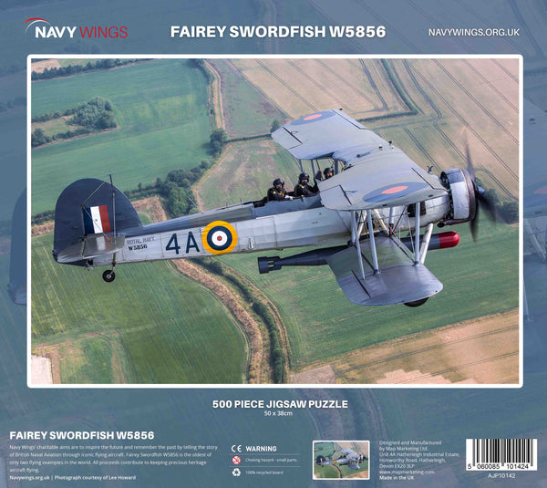 jigsaw fairey swordfish W5856 fleet air arm