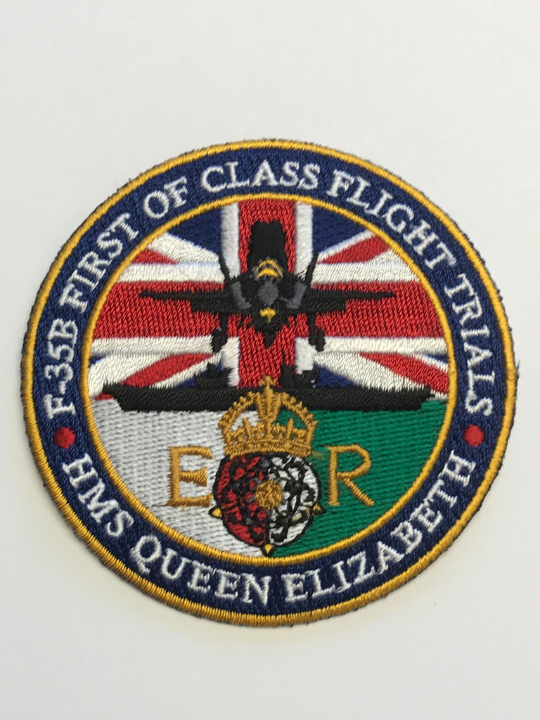 F-35B First of Class Flight Trials badge. Limited availability