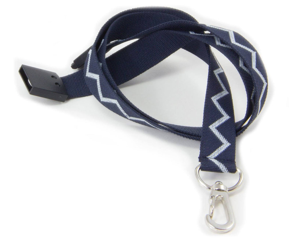 Fleet Air Arm Zigzag Lanyard - Woven Nylon