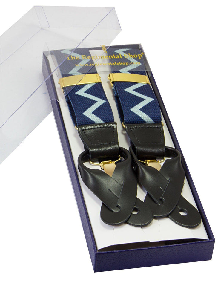 Fleet Air Arm Zigzag braces (Clip & Button)