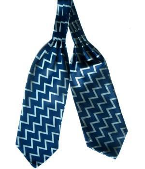 Fleet Air Arm Zigzag woven silk cravat