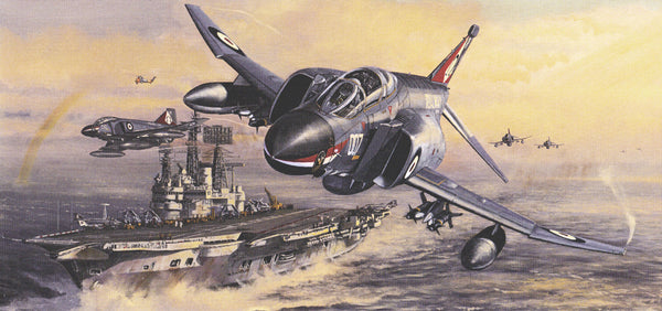 Greeting Cards: Navy Wings Collection - Classic aircraft and stunning artwork (Pack of 5)