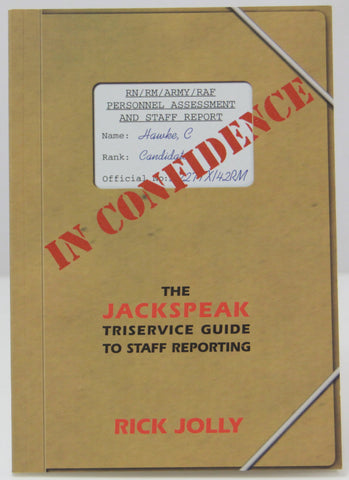 In Confidence book - Rick Jolly