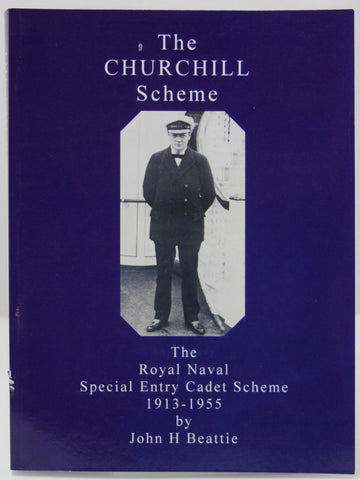 Churchill Cadet Scheme book