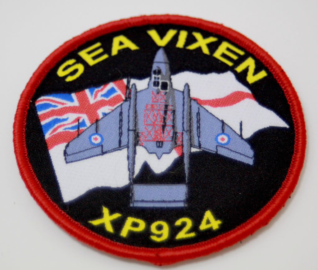 Sea Vixen XP924 Patch Badge