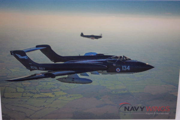 Postcard/Notecard Sea Vixen and Seafire