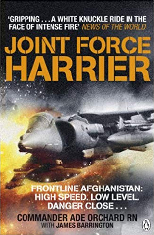 Sea Harrier Ade Orchard Fleet Air Arm Afganistan