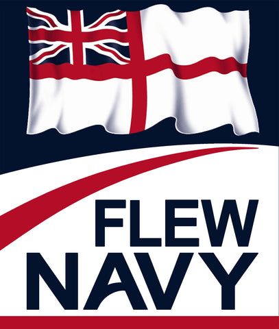 Car windscreen stickers (Pair) - Fly Navy or Flew Navy