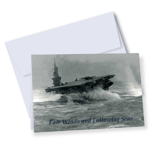 Navy Wings exclusive Fleet Air Arm 'Thank you' and 'Fair Winds' note cards