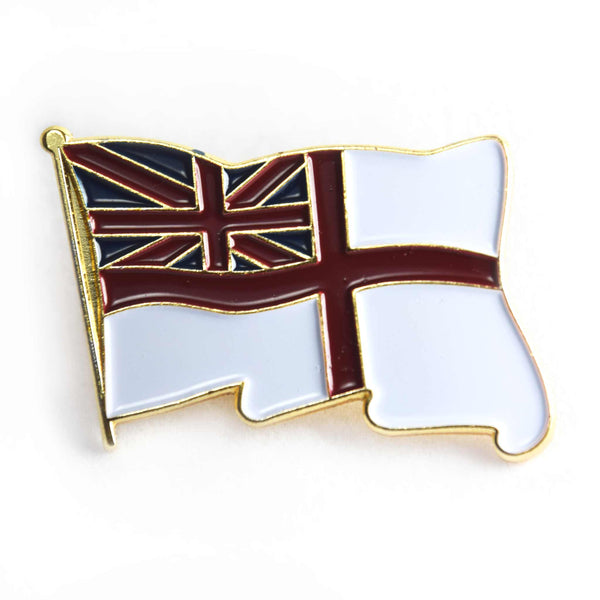 Fleet Air Arm Zigzag and White Ensign Cufflinks, Pins and Tie clips