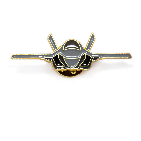 F35B front view enamel badge