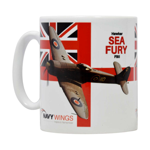 White Ensign Mugs - Classic British Naval Aircraft