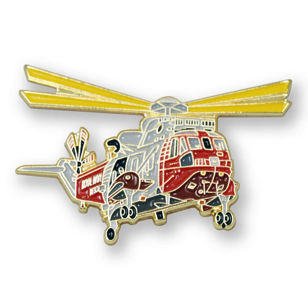 Sea King SAR enamel badge