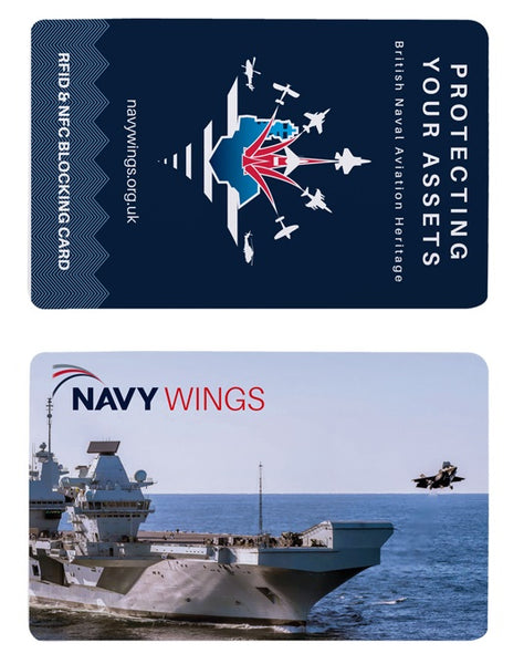 RFID card Queen Elizabeth carrier F-35B Fleet Air Arm