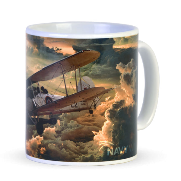 Swordfish fine art mug - Sentinel in the Clouds