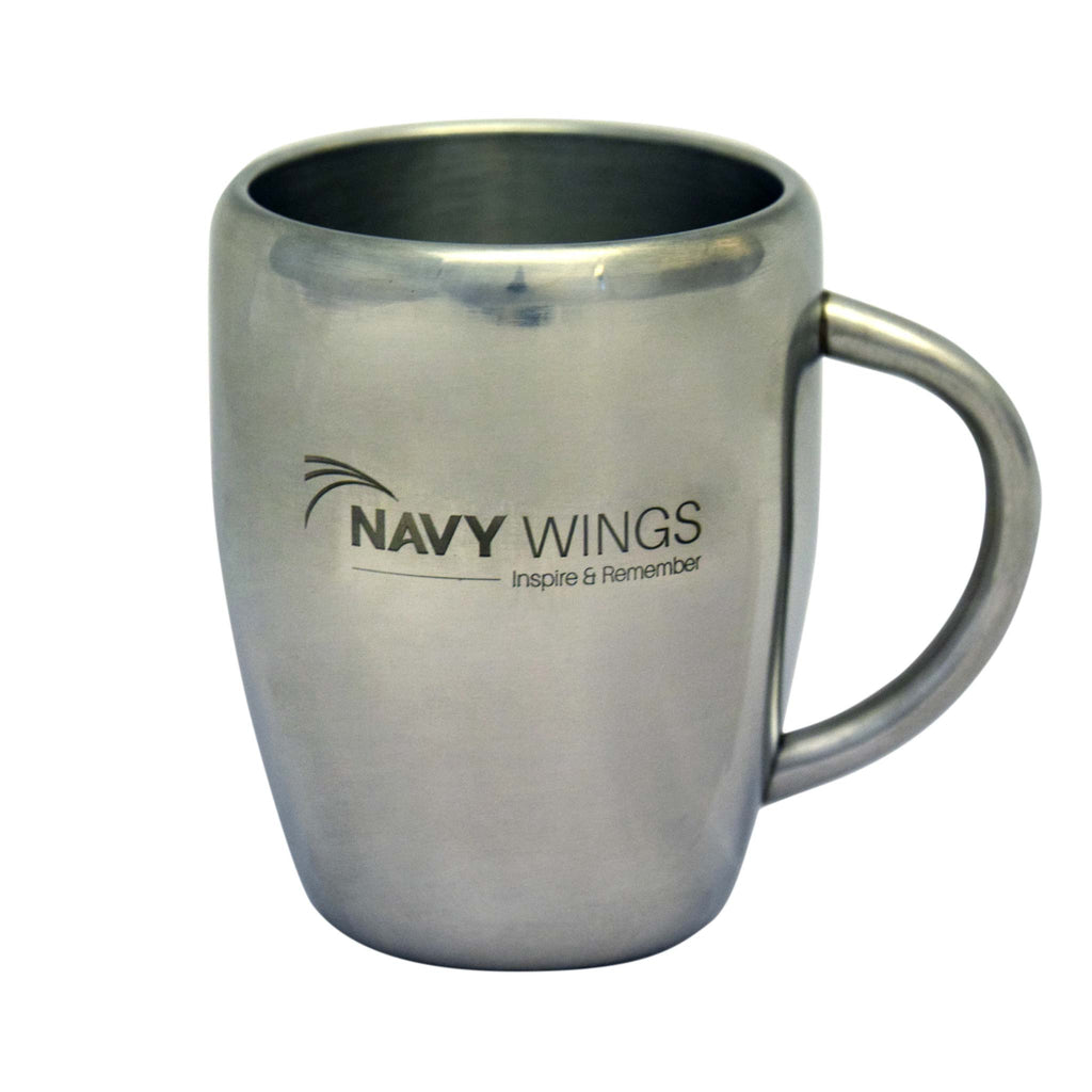 Thermal mug cup navy wings