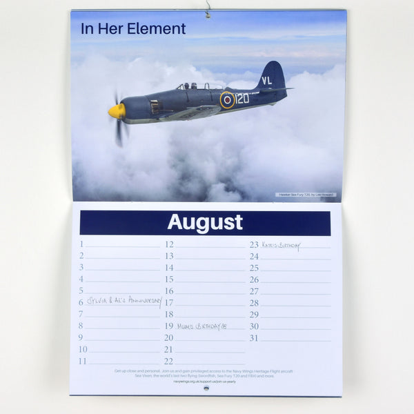 Flying Icons Perpetual Calendar - you'll never forget another anniversary!
