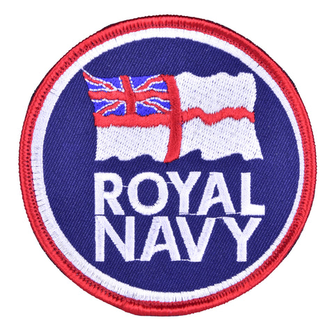 Royal Navy patch badge