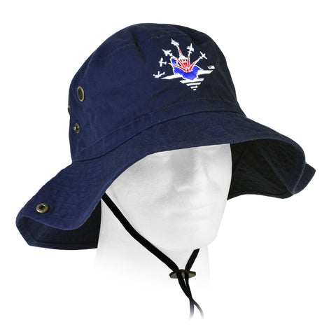 Navy Wings 'Great British Take Off' Bush hat