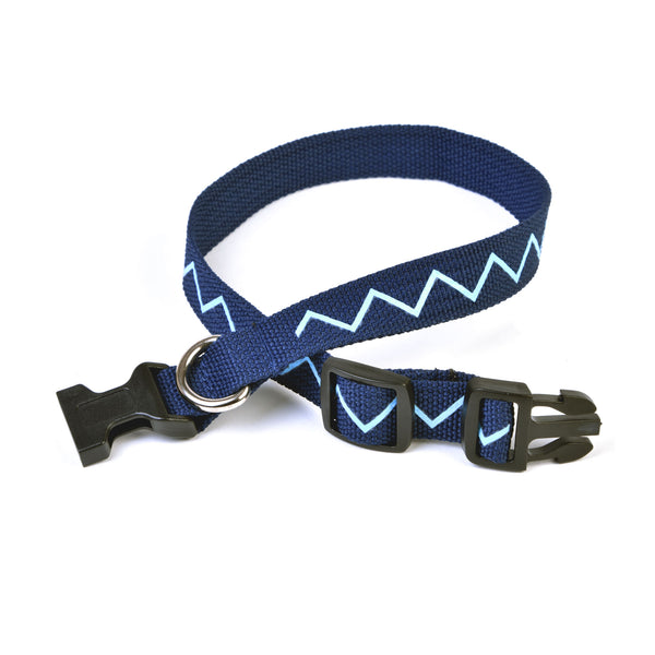 Fleet Air Arm Zigzag Dog Collar and Lead