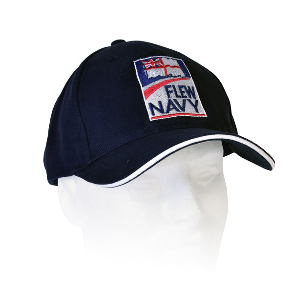 'Flew' Navy and 'Fly' Navy baseball cap