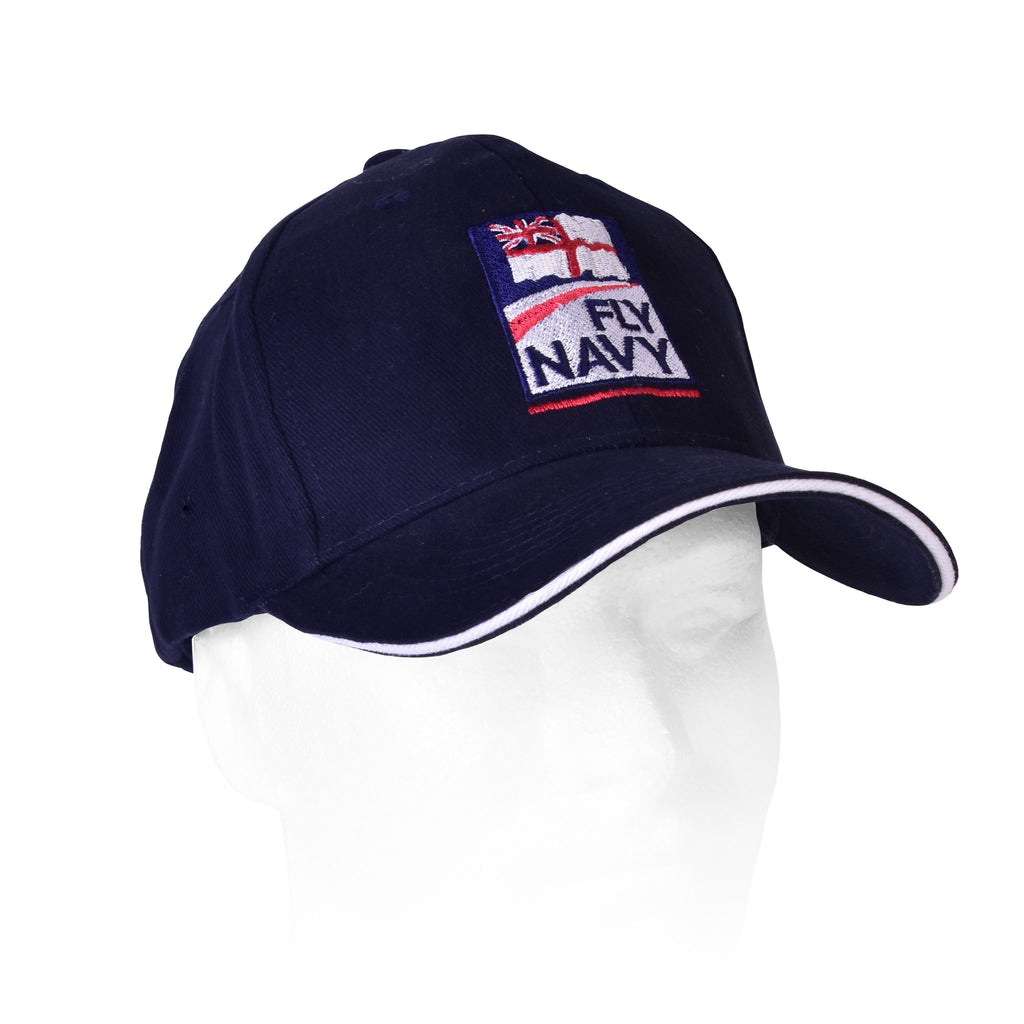 86410fef29e Flew  Navy and Fly Navy baseball cap – Navy Wings Flight Store