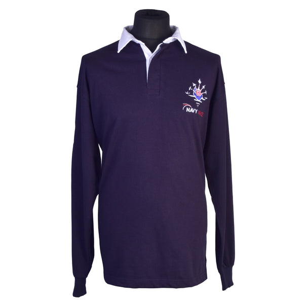 rugby shirt traditional cotton clothing mens fly navy navy wings gbto