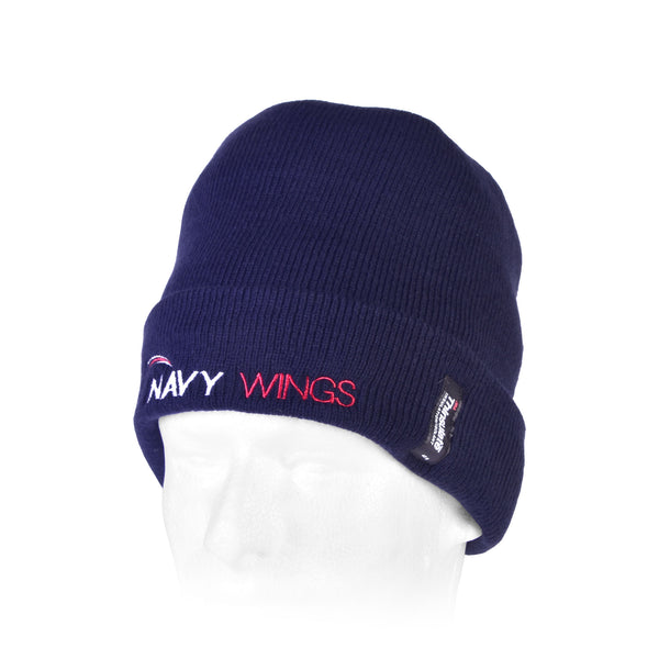 Navy Wings Beanie