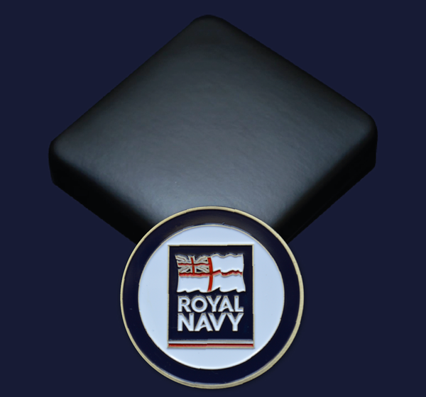 Royal Navy RN Commemorative Coin Collectible Gift