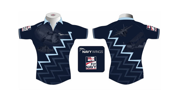 Navy Wings Rugby Shirt Sea King/Merlin & Swordfish/F35