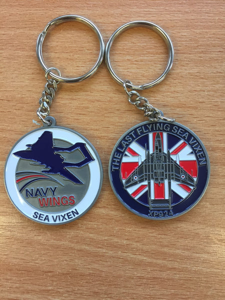 Sea Vixen Appeal key ring