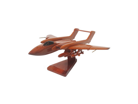 Handmade wooden model Sea Vixen