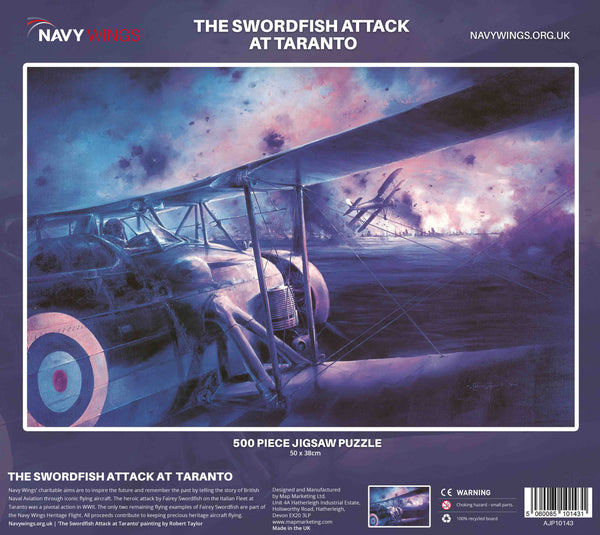 jigsaw fairey swordfish fleet air arm taranto