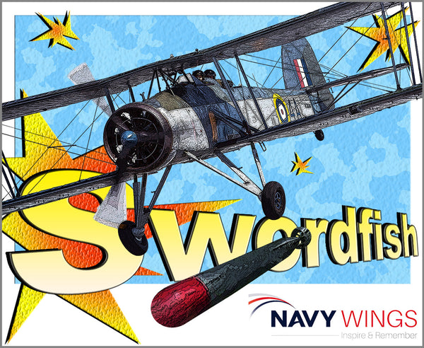 Navy Wings Pop Art posters - classic aircraft - exciting designs