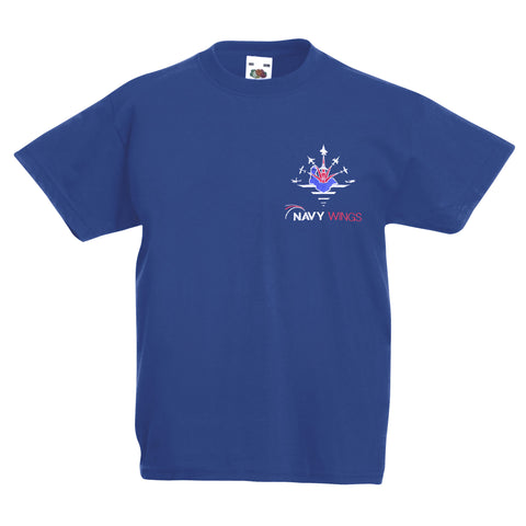 Navy Wings Great British Take Off T Shirt for children