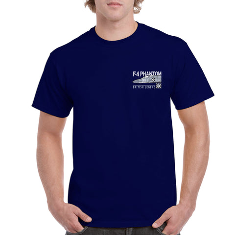 British Legends Navy T Shirt - Various Aircraft to Choose From