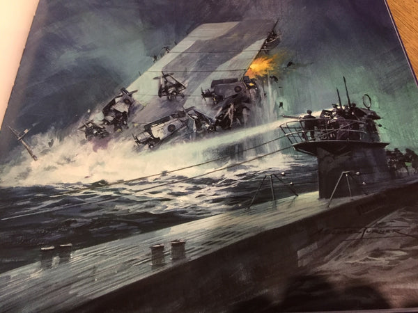 The sinking of HMS Audacious