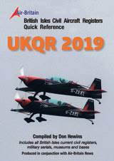 British Isles Civil Aircraft Registers Quick Reference By Don Hewins - UKQR 2019