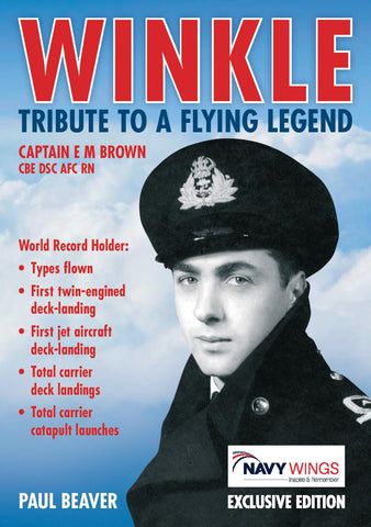 Captain Eric Winkle Brown Tribute