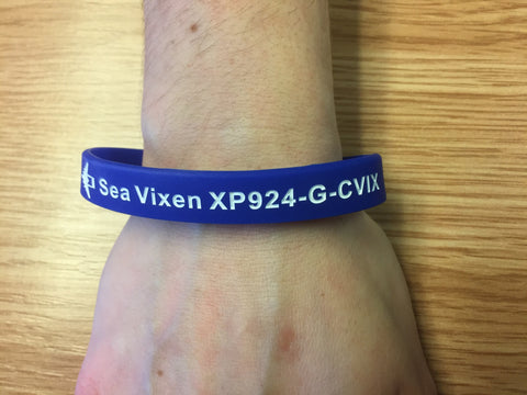 Wristband - Navy Wings & Sea Vixen