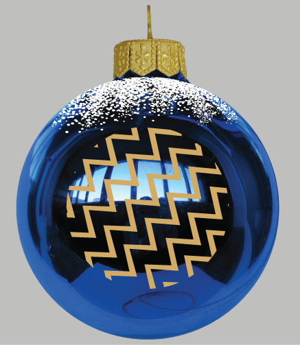 Exclusive Fleet Air Arm Traditional Glass Christmas Tree Bauble