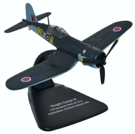 Vought Corsair F4U III. 718 Sqn Fleet Air Arm - Ballyhalbert 1945. 1/72 scale (OXA)