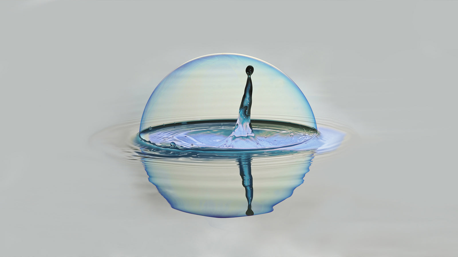 dr. know blog on hernia - water bubble symbolizing hernia bulge