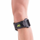 Fabio Leather Knee Strap Brace Support with Silicone Pad - Buy on Amazon.in