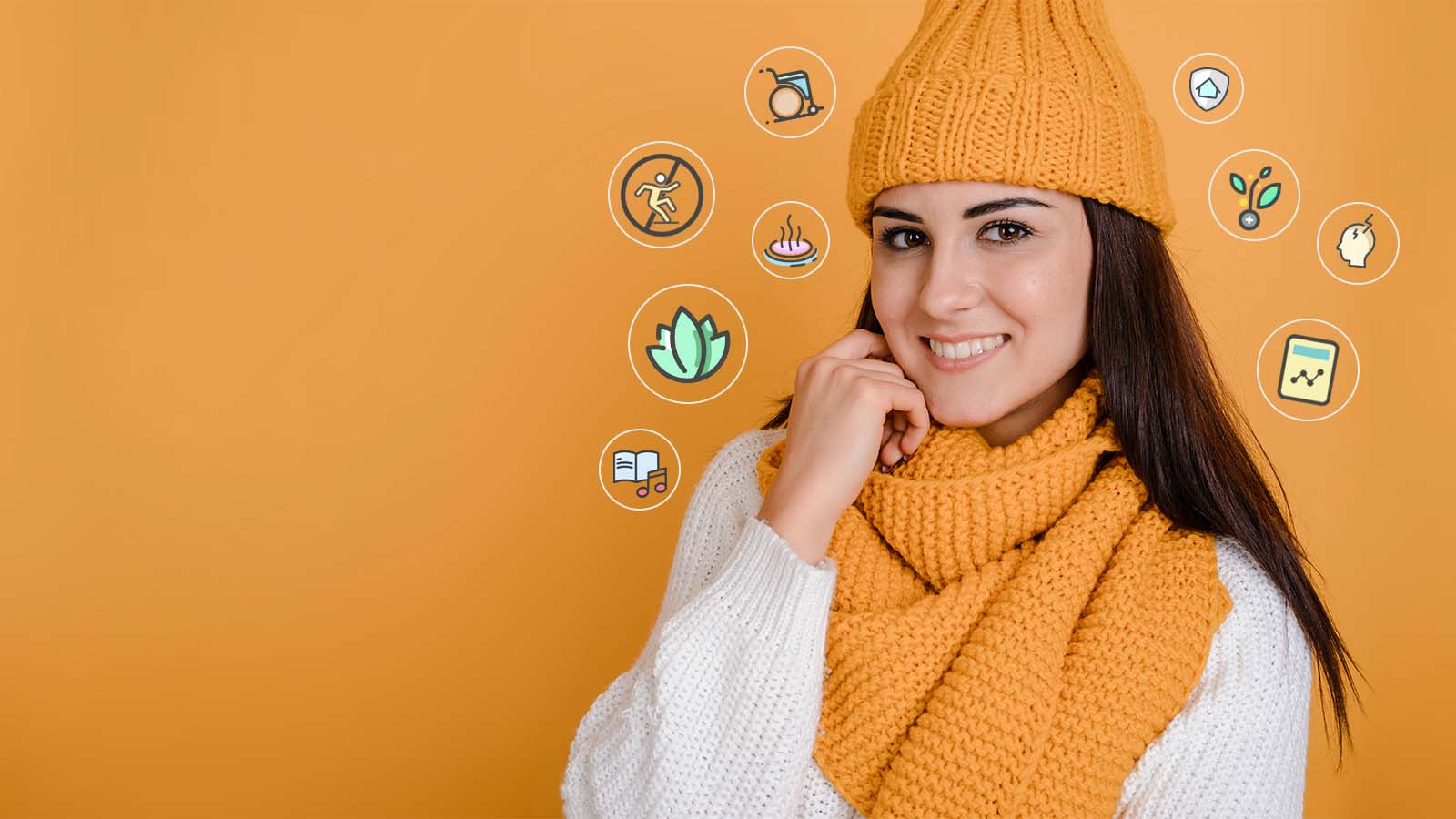 Collection of Health and wellness products for Winters in India by heyzindagi.com.