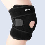 Obliq Hinged Knee Brace with Non-Slip Silicone Gel for Running & Sports - Shop at Amazon.in