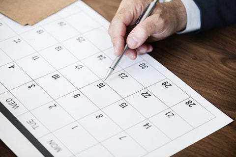 dr. know blog hey zindagi post surgical recovery man marking dates in calendar