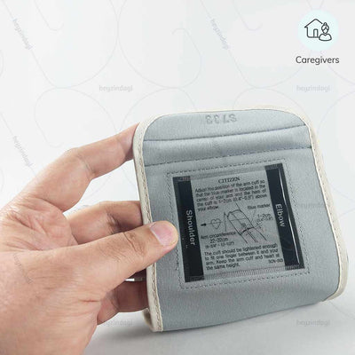 Citizen BP monitor (CH-456) . Easy to operate by caregivers | order online at heyzindagi solutions