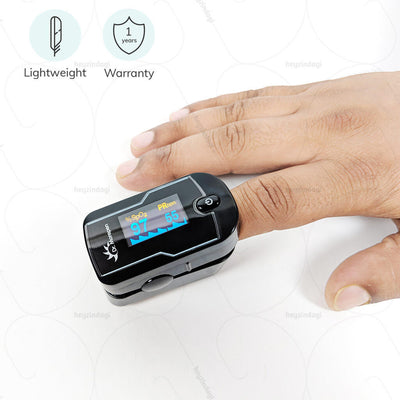 Best Pulse oximeter (PO-04) by Dr. Morepene India. Lightweight machine that is easy to operate . Comes with a 1 year warranty |  Shop at heyzindagi.com
